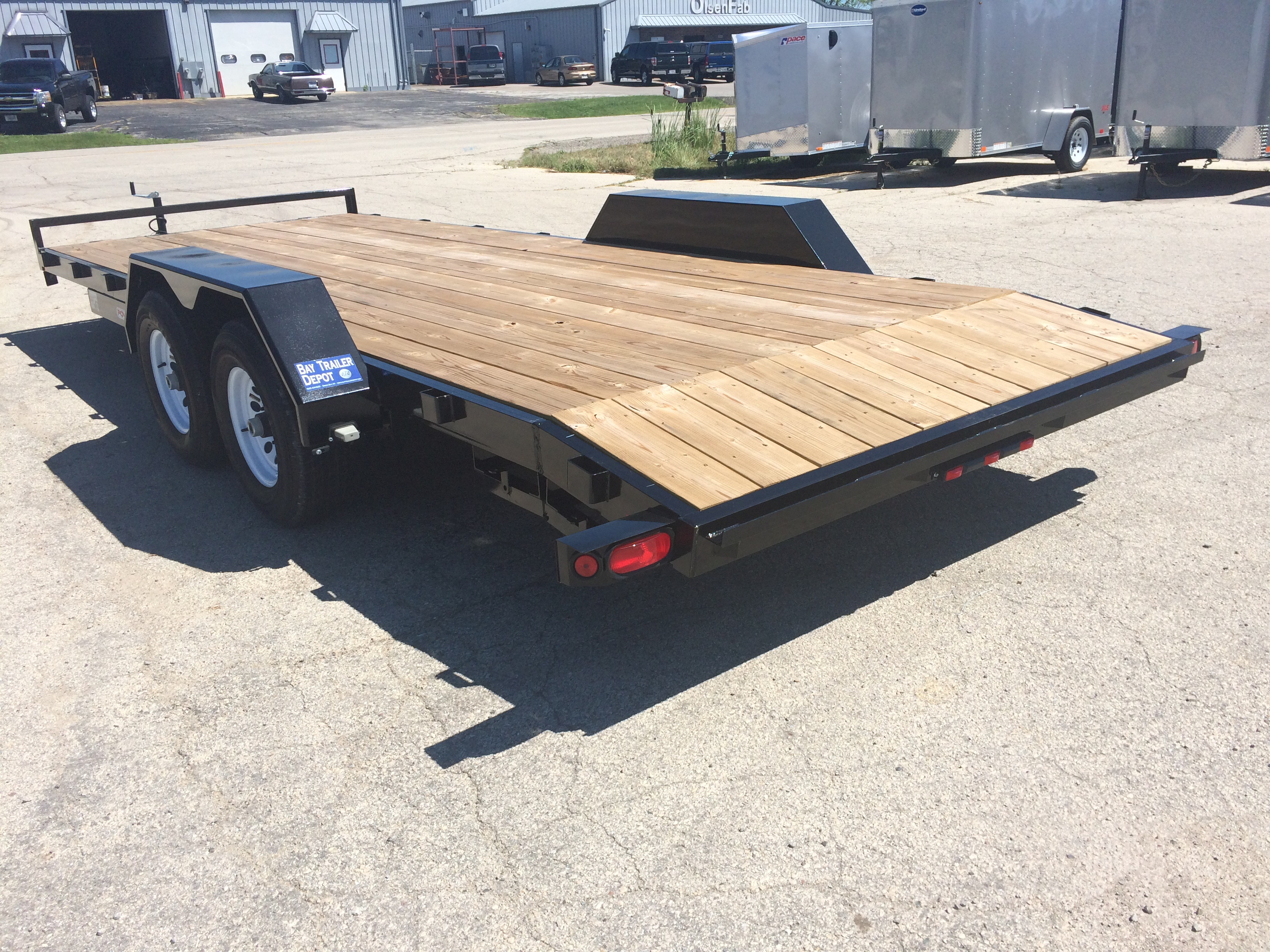 2019 liberty 10k gvwr 82 x 20 channel car hauler trailer bay trailer overview standard features malvernweather Images